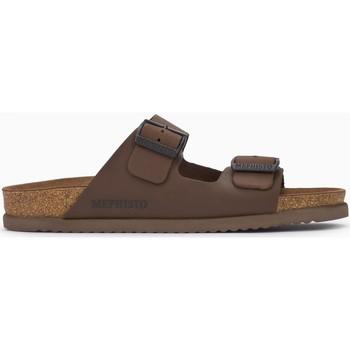 Zapatos Hombre Zuecos (Mules) Mephisto NERIO Marrón