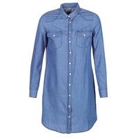 textil Mujer vestidos cortos Yurban IHEBELLA Azul