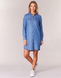 textil Mujer vestidos cortos Yurban HEBELLA Azul