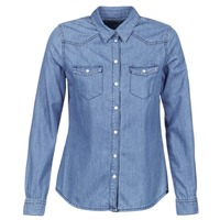 textil Mujer camisas Yurban IHEFOU Azul