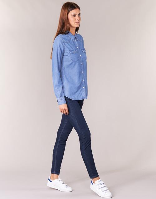 Azul Textil Camisas Ihefou Yurban Mujer rQxodeBWC