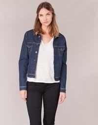 textil Mujer chaquetas denim Yurban HELEFI Azul / Medium