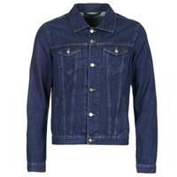 textil Hombre chaquetas denim Yurban IHEDEM Azul / Oscuro