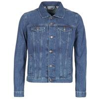 textil Hombre chaquetas denim Yurban IHEDEM Azul / Medium