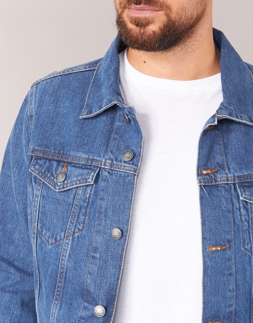 Yurban Ihedem Azul / Medium - Envío Gratis Textil Chaquetas Denim Hombre 38