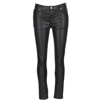 textil Mujer pantalones con 5 bolsillos Yurban HENDUI Negro