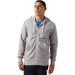 textil Hombre sudaderas Reebok Classic Sudadera  French Terry Full Zip Gris