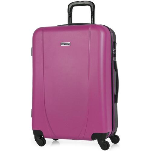 Bolsos Valise Rigide Itaca TROLLEY ABS BICOLOR Fucsia-Antracita