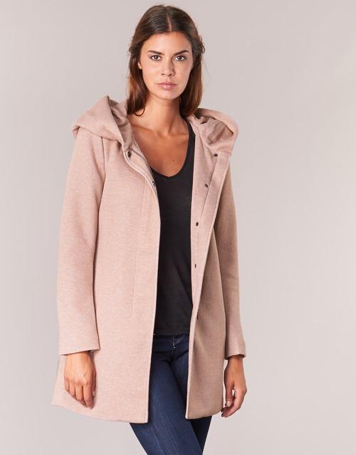 textil Mujer Abrigos Only SEDONA Rosa