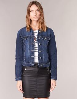 textil Mujer chaquetas denim Only WESTA Azul