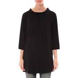 textil Mujer Túnicas Barcelona Moda Robe Margarita Noir Negro