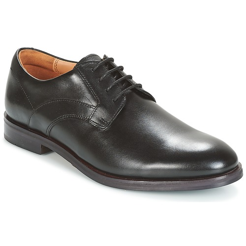Clarks - Black Leather