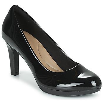 Zapatos Mujer Zapatos de tacón Clarks ADRIEL VIOLA Negro / Pasto