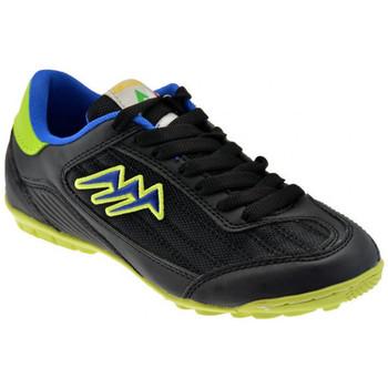 Zapatos Niños Fútbol Agla  Negro