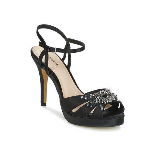 Zapatos Mujer Sandalias Menbur ALCAZR Negro