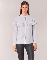 textil Mujer camisas Moony Mood HALIS Blanco