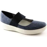 Zapatos Mujer Bailarinas-manoletinas FitFlop FIT-E17-E93399-NA Blu