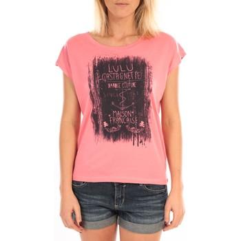 textil Mujer Tops / Blusas LuluCastagnette Top Luna Print Rose Rosa