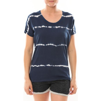 textil Mujer Camisetas manga corta LuluCastagnette T-Shirt Bobo Marine Azul