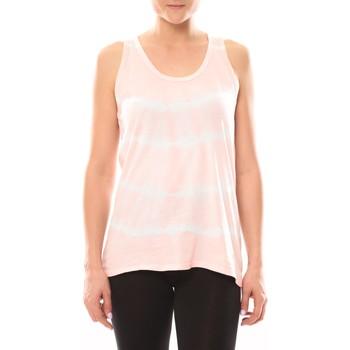 textil Mujer Tops / Blusas LuluCastagnette Débardeur HIPPY Poudre/Blanc Blanco