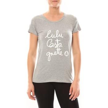 textil Mujer Camisetas manga corta LuluCastagnette T-shirt Muse Gris Gris