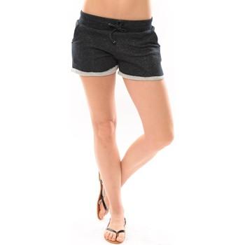 textil Mujer Shorts / Bermudas LuluCastagnette Short Bagou Marine Azul