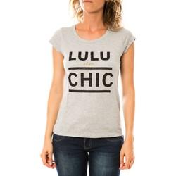 textil Mujer Camisetas manga corta LuluCastagnette T-shirt Chicos Gris Gris