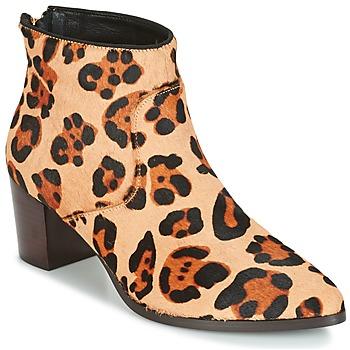 Zapatos Mujer Botines Bocage MELODY Leopardo
