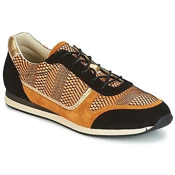 Zapatos Mujer Zapatillas bajas Bocage LAURETTE Negro / Ocre