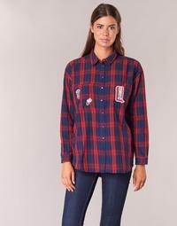 textil Mujer camisas Yurban HERDON Rojo