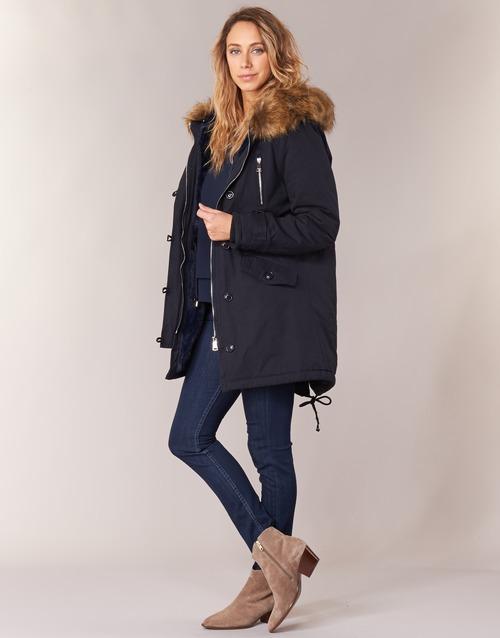 Marino London Mujer Parkas Textil Betty Hari uJTlFK1c3