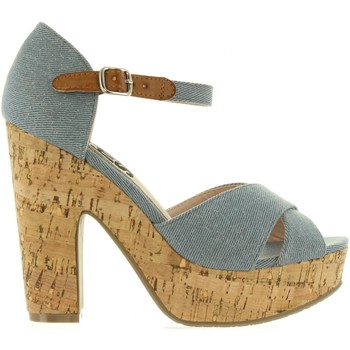 Zapatos Mujer Sandalias Refresh 63254 Azul