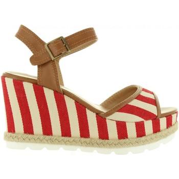 Zapatos Mujer Sandalias Refresh 63508 Rojo