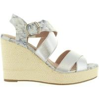 Zapatos Mujer Sandalias Refresh 63299 Plateado