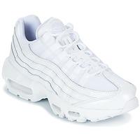Zapatos Mujer Zapatillas bajas Nike AIR MAX 95 W Blanco