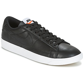 Zapatos Mujer Zapatillas bajas Nike BLAZER LOW LEATHER W Negro