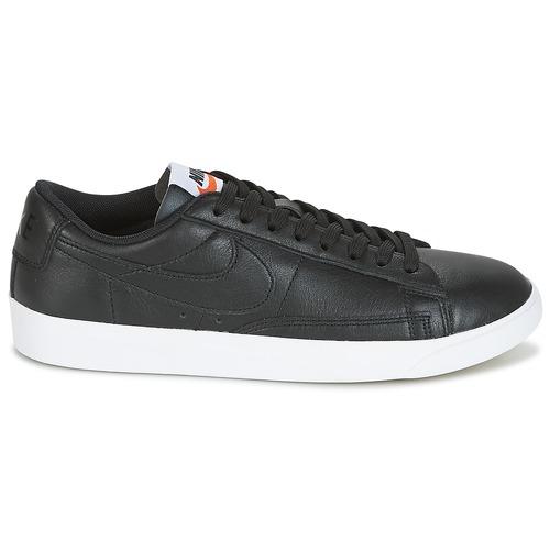 Nike Blazer Mujer Low Zapatillas Bajas Leather W Zapatos Negro mn0wN8vO