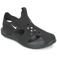 Zapatos Niño Sandalias Nike SUNRAY PROTECT 2 CADET Negro / Blanco