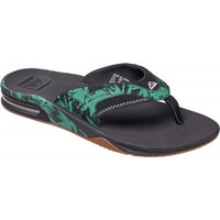 Zapatos Chanclas Reef Chanclas  Fanning Green Botanical multicolor