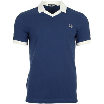 textil Hombre polos manga corta Fred Perry Taped Pique Shirt Snow White