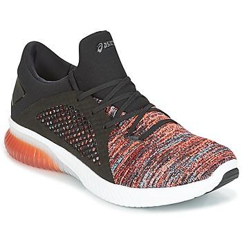 Zapatos Hombre Zapatillas bajas Asics KENUN KNIT Naranja / Negro
