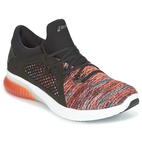Zapatos especiales para hombres y mujeres Asics KENUN KNIT Naranja / Negro