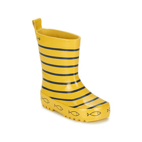Zapatos Niños Botas de agua Be Only TIMOUSS Amarillo / Azul
