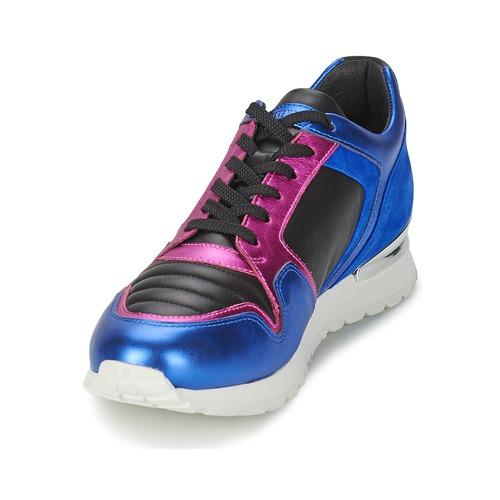 Zapatillas AzulFucsia Bajas Zapatillas AzulFucsia Mujer Bajas Mujer T1KcFlJ