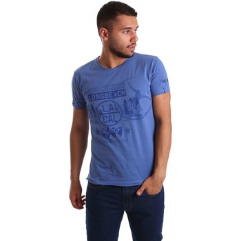 Camiseta Navigare N631015 Jersey Hombre Azul