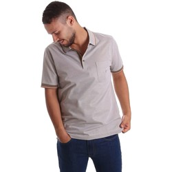 textil Hombre polos manga corta Navigare NV72007 Polo Hombre Beige Beige