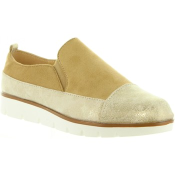Zapatos Mujer Slip on Top Way B719403-B7200 Gold
