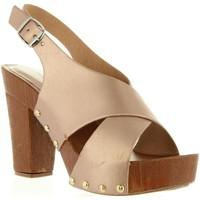 Zapatos Mujer Sandalias Top Way B739390-B7200 Rosa