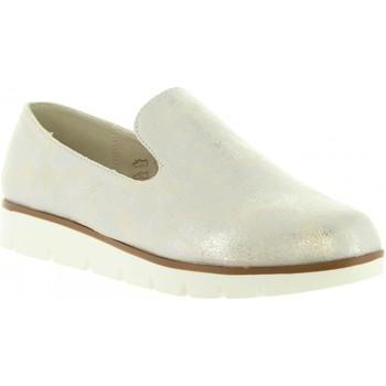 Zapatos Mujer Mocasín Top Way B719391-B7200 Plateado