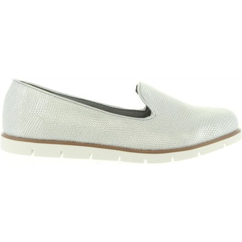Zapatos Mujer Mocasín Top Way B733970-B7200 Plateado